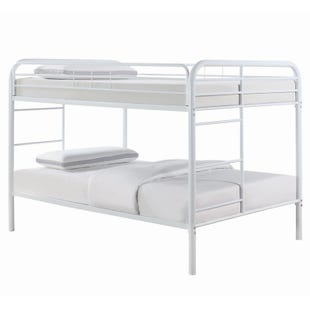 Morgan Full/Full White Bunk Bed