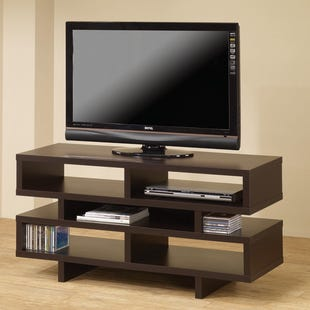 "Dasher 50""  Brown TV Stand"