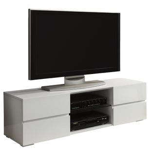 "Coaster Glossy 55"" TV Stand"
