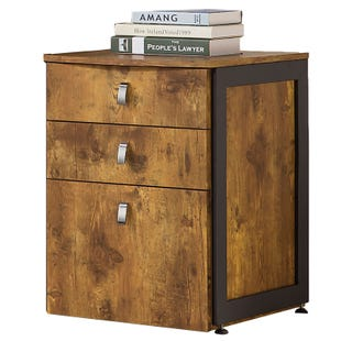 Estrella Antique Nutmeg File Cabinet