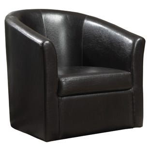 Bethany Brown Swivel Chair