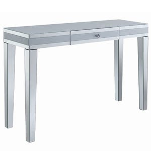Zayden Silver Mirrored Console Table