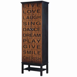 Live, Love, Laugh Cabinet