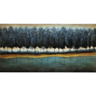 Blue Forest Canvas