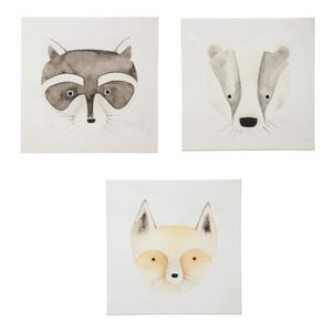 Uma Little Friends Assorted Wall Art