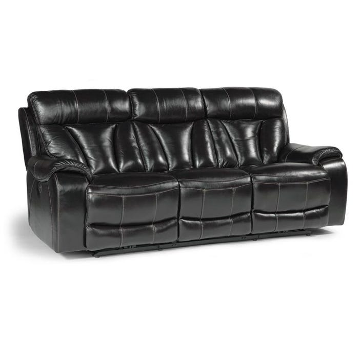 Derek Leather Motion Sofa | Weekends Only Furniture