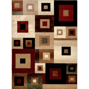 Tribeca Town Square 8x10 Rug