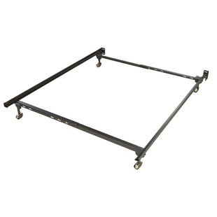 Twin/Full Bed Frame With Rollers