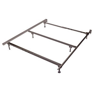 Metal Queen Bed Frame with Spin Glides