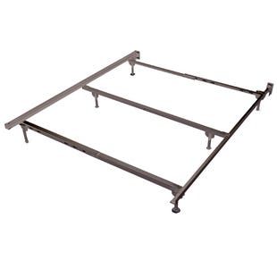 Metal King Bed Frame with Spin Glides