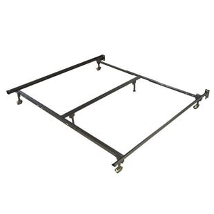 King Bed Frame With Rollers