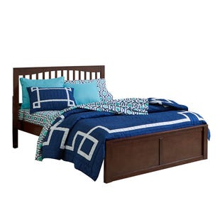 Pulse Cherry King Panel Bed