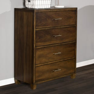 Dawson's Ridge Brown 4 Drawer Chest