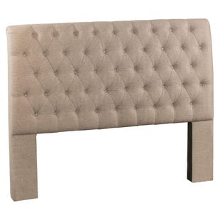 Napelton Dove Gray King Headboard