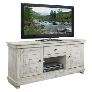 "Villa Distressed Gray 60"" Door ET Console"