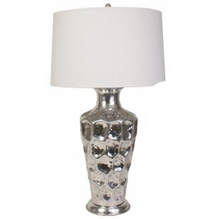 "Jimco 32"" Honeycomb Metal Table Lamp"