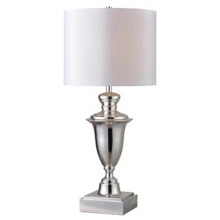 McClelland Silver Traditional Table Lamp