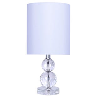 Double Crystal Accent Lamp