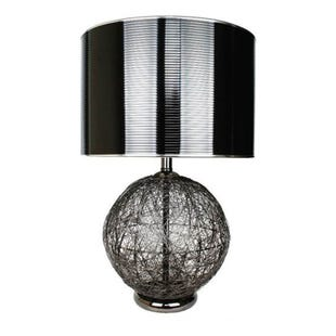 Grandview Gallery Grayson Black Metal Table Lamp
