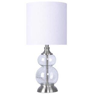 Grandview Seeded Glass Accent Lamp