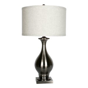 Mineral Metal Table Lamp Gray