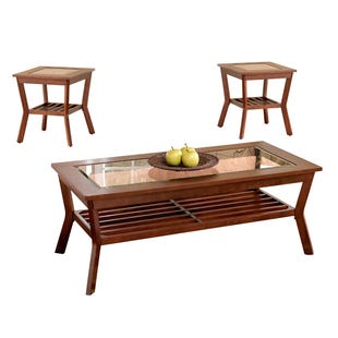 Clifton Espresso 3 Pack Table Set