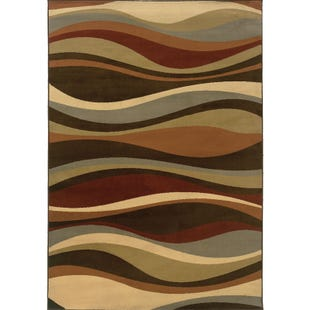 Darcy Waves 5x8 Rug