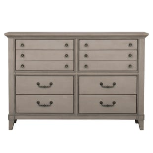 Samuel Lawrence Sausalito Weathered Taupe 8 Drawer Dresser