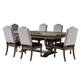 Santa Barbara Medium Brown 7 Piece Dining Set
