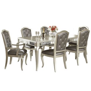 Diva 7 Piece Rectangular Dining Set