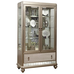 Diva Mirrored China Cabinet