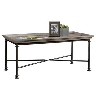 Sauder Canal Street Grey Cocktail Table