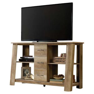 "Sauder Boone Mountain Rustic Storage 60"" TV Stand"