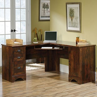 Sauder Harbor L-Shaped Desk