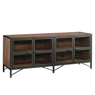 "Boulevard Cafe Metal and Oak Finish 70"" Credenza"