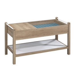 Skye Oak Storage Cocktail Table