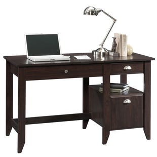 Sauder Shoal Creek Jamocha Lift-Top Desk
