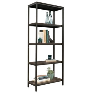 North Avenue Smoked Oak Tall Bookcase