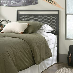 Boulevard Cafe Twin Headboard Black Metal