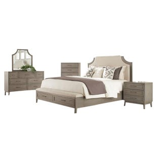 Vogue Gray Wash Queen Bedroom Set