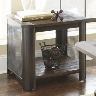 Steve Silver Barrow Brown End Table