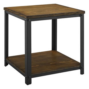 Logan Metal/Wood End Table