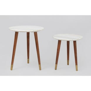 Terrace 2 Piece Round Nesting Tables