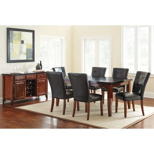 Bello 7 Piece Granite Top Dining Set