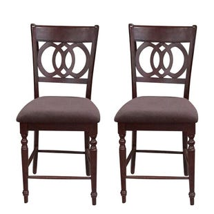 Dolly Set of 2 Counter Height Chairs
