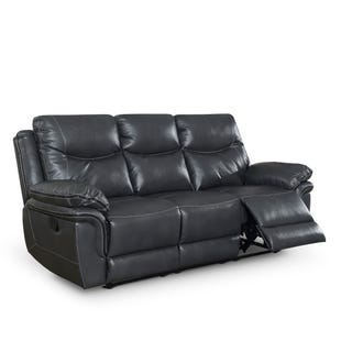 Isabella Reclining Sofa Gray