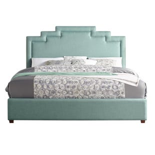 Sadie Seafoam Queen Complete Bed