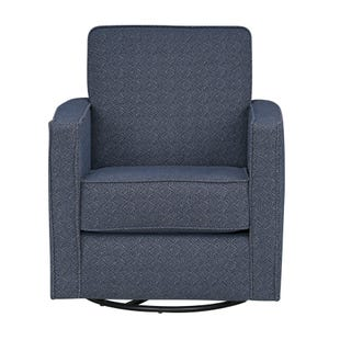 Ellison Bay Navy Swivel Chair