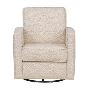 Ellison Bay Animal Print Swivel Chair