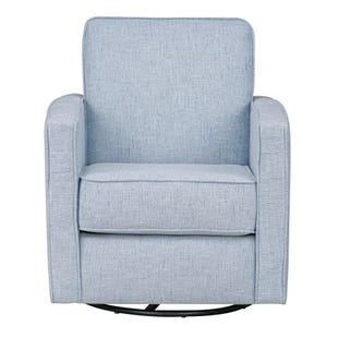 Ellison Bay Light Blue Swivel Chair